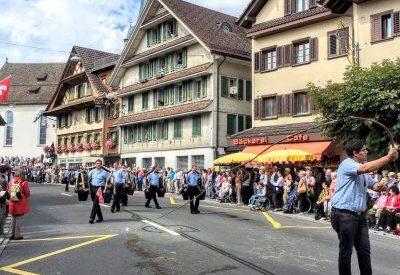 Int. Trachtenfest Menzingen 2016